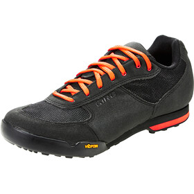 Giro Rumble VR Chaussures Homme, black/glowing red